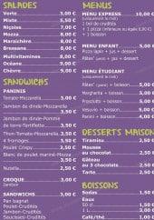 Menu K Passa - Les salades, menus,...