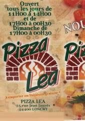 Menu Pizza Lea - carte et menu Pizza Lea  Longwy