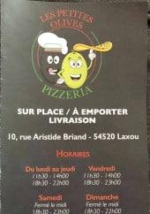 Menu Les Petites Olives - Carte et menu Les Petites Olives Laxou