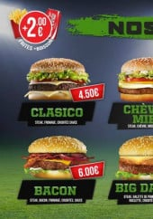 Menu Food ball - Burgers