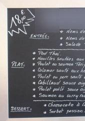 Menu Khao Hom - Un exemple de menu