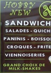Menu Hobby new - Les salades, boissons,...