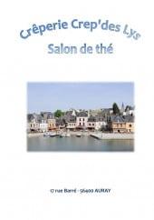 Menu Crep' des Lys - Carte et menu Crep' des Lys  Auray