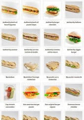 Menu La mie câline - Les burgers et sandwiches