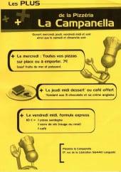 Menu La Campanella - Carte et menu La Campanella Languidic