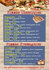 Menu Trimaran II - Les pizzas