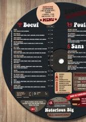 Menu Boogie Burger - Le menu du Boogie Burger à Metz