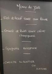 Menu Chez Alex - Un exemple de menu du jour