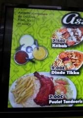 Menu Indien Snack - Les assiettes