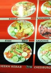 Menu Le Shalimar 2 - Les plats faits maison
