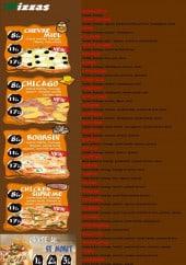 Menu Pizza tasty - Les pizzas