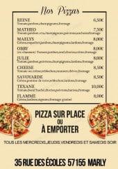 Menu Le Goeland - Les pizzas