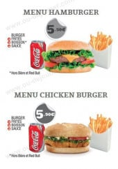 Menu Kebab & Co - Les menus suite