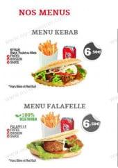 Menu Kebab & Co - Les menus