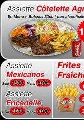 Menu Kebab House - Assiettes