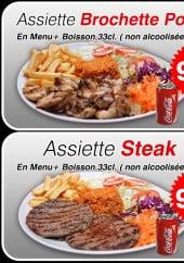 Menu Kebab House - Assiettes suite