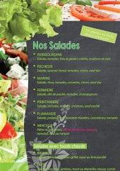 "Menu La ""Pâte à Sel"" - Les salades"