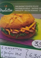 Menu Sandwicherie Du Pont Neuf - Burger