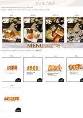 Menu Toyotomi - Les menus midi et menus yakitoris