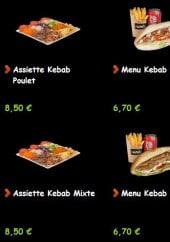 Menu Unik kebab - Les kebabs suite