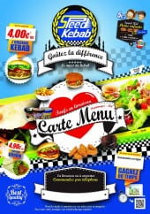 Menu Speed Kebab - Carte et menu Speed Kebab La Madeleine
