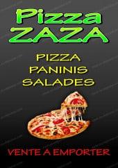 Menu Pizza Zaza - Carte et menu Pizza Zaza Croix