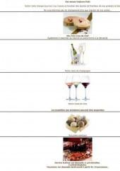 Menu La Maison - Les spécialités