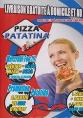 Menu La patatina - Carte et menu patatina valenciennes