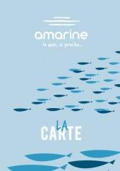 Menu Amarine - Carte et menu Amarine Englos