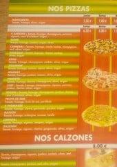 Menu La Roma - Les pizzas