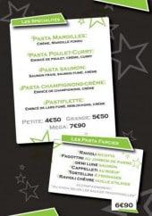 Menu Pasta gulosa - Les spécialités et pâtes farcies