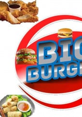 Menu Big Burger - Carte et menu Big Burger Villeneuve d'Ascq