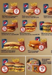 Menu Big Burger - Les menus