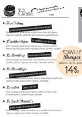 Menu Bread and burger - Les burgers et formules