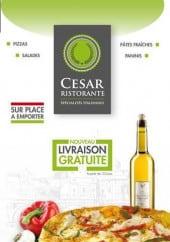 Menu Cesar Ristorante - carte et menu cesar Villeneuve d'ascq
