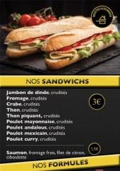 Menu En'K - Sandwiches