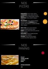 Menu Faim 2 nuit - Les pizzas et paninis