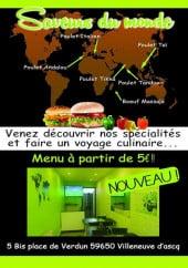 Menu Saveurs du monde - Carte et  menu Aslan Kebab à Cournon d'Auvergne