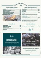 Menu Place des oliviers - les crêpes,...