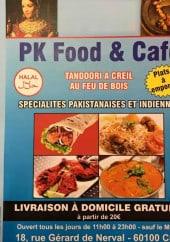 Menu Pk food - Carte et menu Pk food Creil