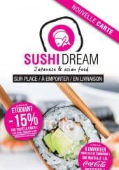 Menu Sushi Dream - Carte et menu Sushi Dream Creil