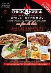 Menu Chick & grill - Carte et menu Chick & grill Meru