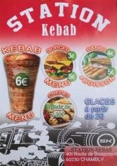 Menu Station Kebab - Les menus