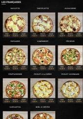 Menu Pizzanomie - Françaises