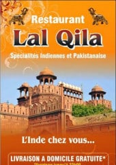 Menu Lal Qila - Carte et menu Lal Qila La Chapelle en Serval
