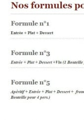Formule groupes