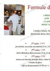 Menu La Toscane - La formule midi