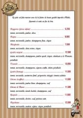 Menu Le Moulin des Saveurs - Les pizzas