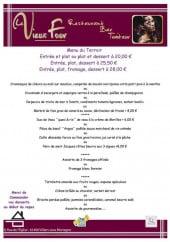Menu Le Vieux Four - Exemple de menu