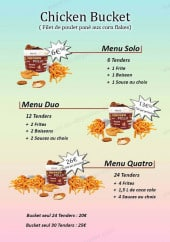 Menu L'Ô à la Bouche - Les menus